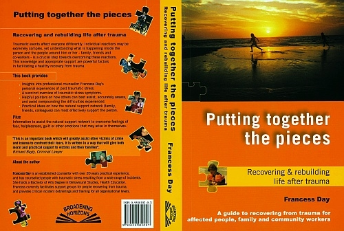 Image of 'Putting together the pieces' - self help book
