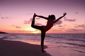 sunset, balance, serenity