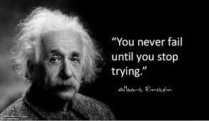 Never Fail if keep Trying