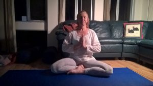 Retreat to Relax's Yoga leader Sue Barbour