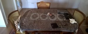 Dutch carpet table-cloth